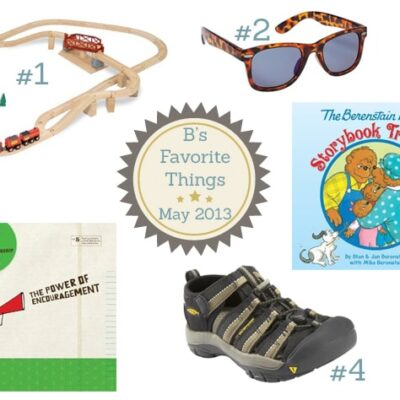B's Favorite Things: May 2013