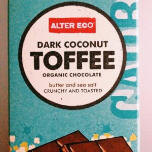 My very favorite chocolate bar. Good for all occasions, but most especially tough weeks.