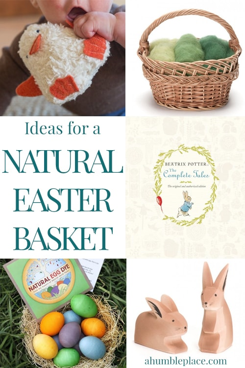 How to Build a Natural Easter Basket (ahumbleplace.com)