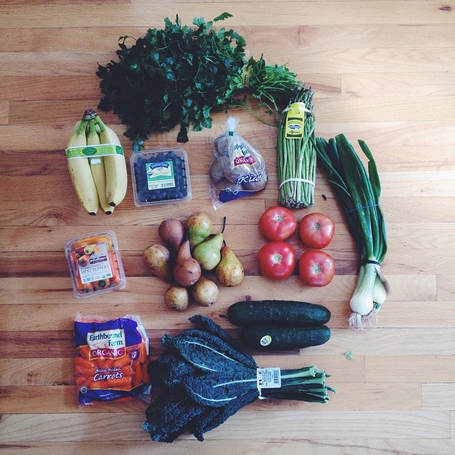 This week's Bountiful  Basket.