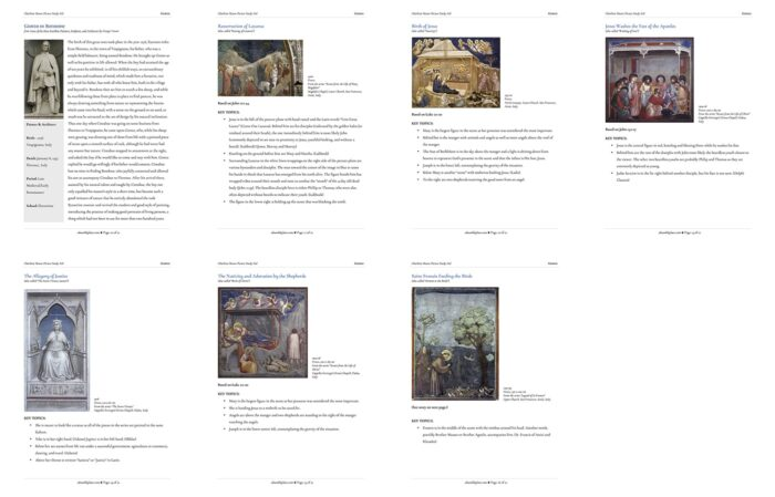 Giotto: Charlotte Mason Picture Study Aid - ahumbleplace.com