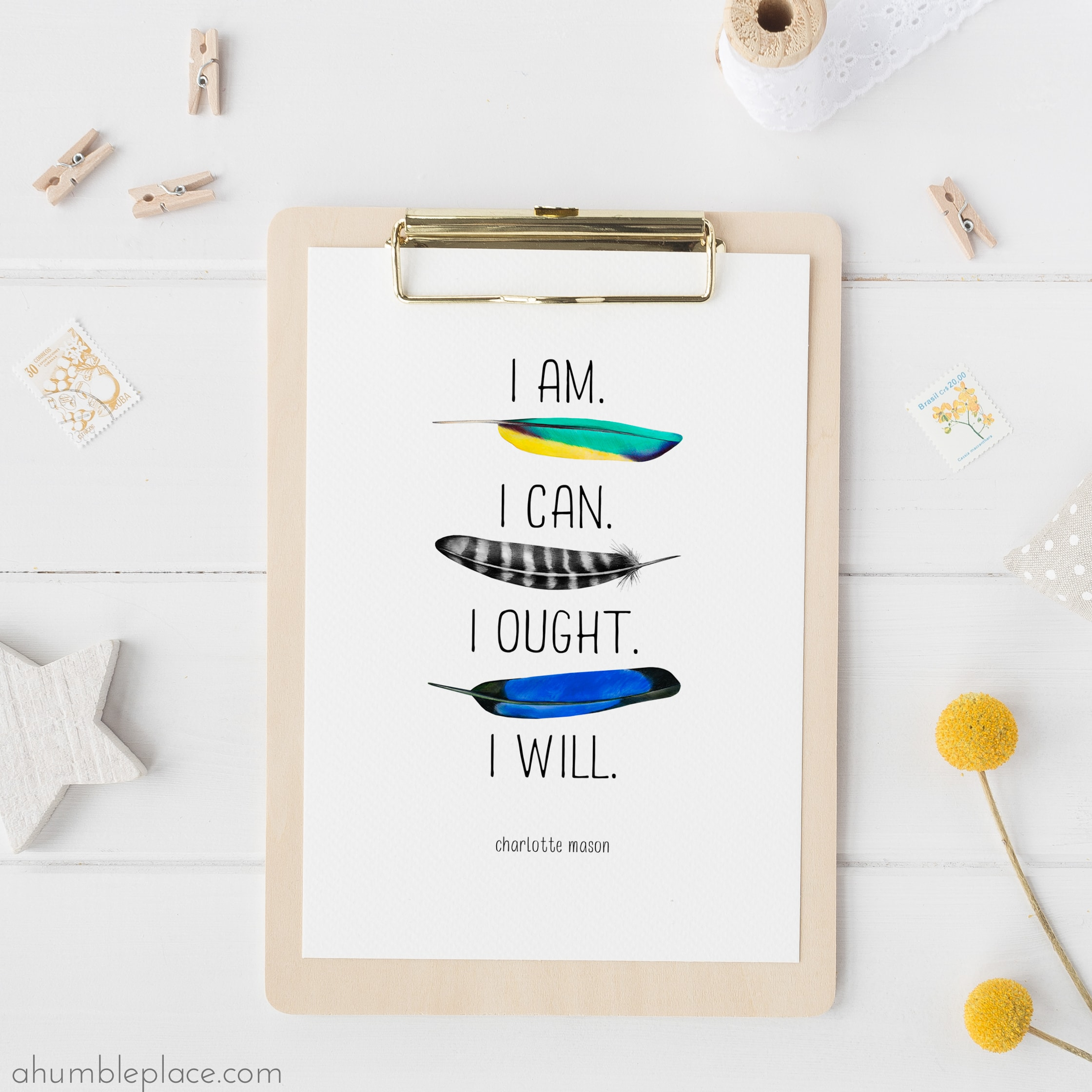 Charlotte Mason Quote Printable Downloads