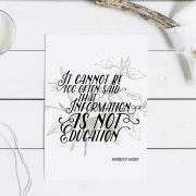 "Charlotte Mason ""It cannot be too often said..."" Quote Downloadable Print - ahumbleplace.com"