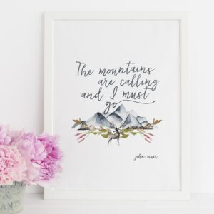 John Muir Quote Prints