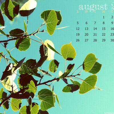 August 2012 Desktop Wallpaper.