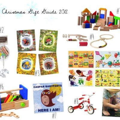 Toddler Gift Guide.