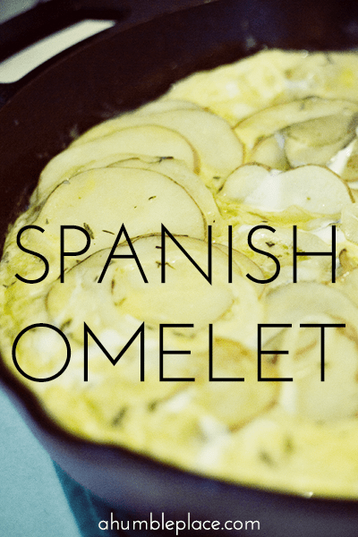 Spanish Omelet - Quick, easy, and oh-so-satisfying!