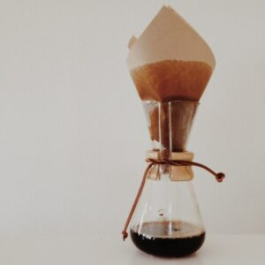 The Chemex has been getting a lot more use with E home.