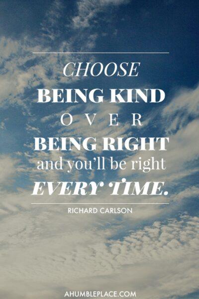 Be kind. - ahumbleplace.com