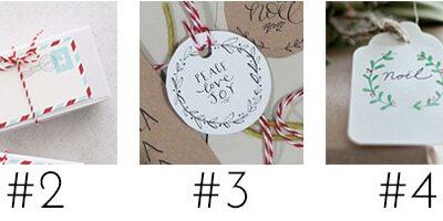 30 Printable Christmas Gift Tags