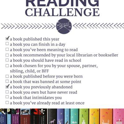 2016 Reading Challenge Progress