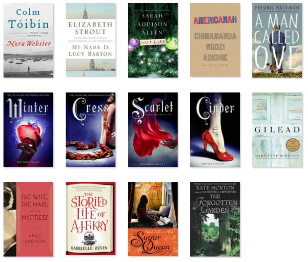 2016 Reading Progress - aumbleplace.com
