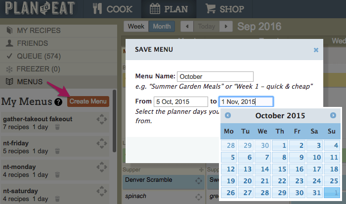 Plan To Eat Planner - ahumbleplace.com