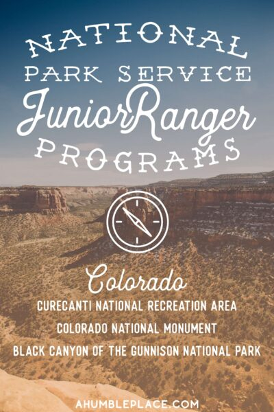 Western Colorado Junior Ranger Badges - ahumbleplace.com