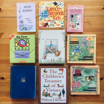 Charlotte Mason-Inspired Kindergarten Recap