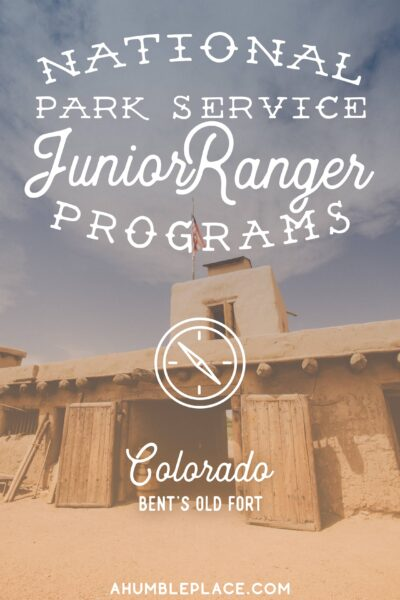 Bent's Old Fort Junior Ranger Adventures - A recap of our adventures at Bent's Old Fort National Historic Site and getting our first Junior Ranger badge! #juniorrangers #nationalparkservice #npsjuniorrangers #bentsoldfort