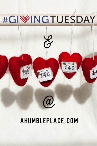 Giving Tuesday & Love146 - ahumbleplace.com