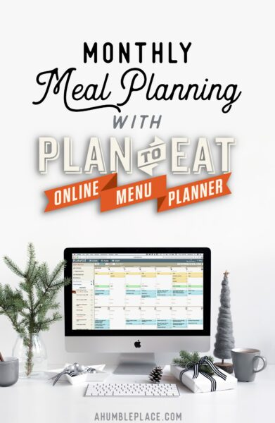 Meal planning doesn't have to take forever or be difficult! Here's how I get it done fast! #menuplanning #mealplanning #plantoeat #meals #food