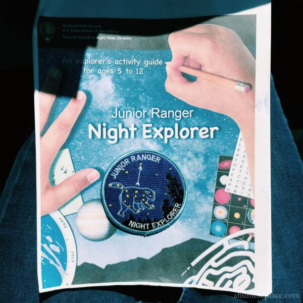 Junior Ranger Night Explorer - ahumbleplace.com