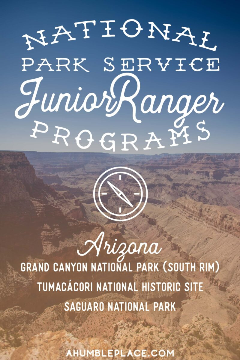 National Park Service Junior Ranger Programs - ahumbleplace.com