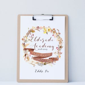 Printable Homeschool Planner Cover with Fall Wreath and Charlotte Mason Quote - ahumbleplace.com