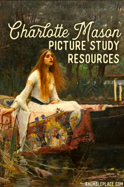 Links and downloads to help with your Charlotte Mason picture study!