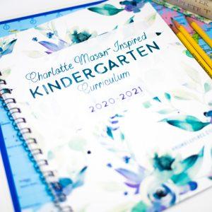 Charlotte Mason-Inspired Kindergarten - ahumbleplace.com