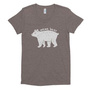 Mama Bear Women's Crew Neck T-shirt - ahumbleplace.com