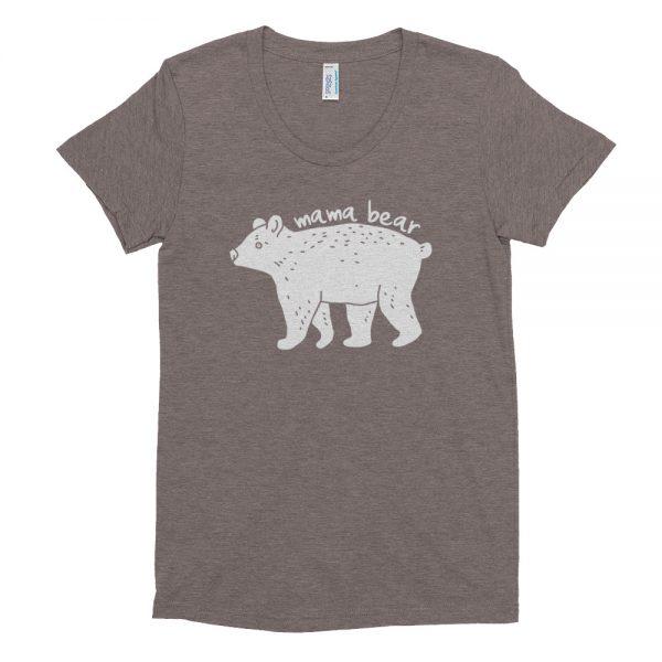 Mama Bear Women's Crew Neck T-shirt - ahumbleplace.com