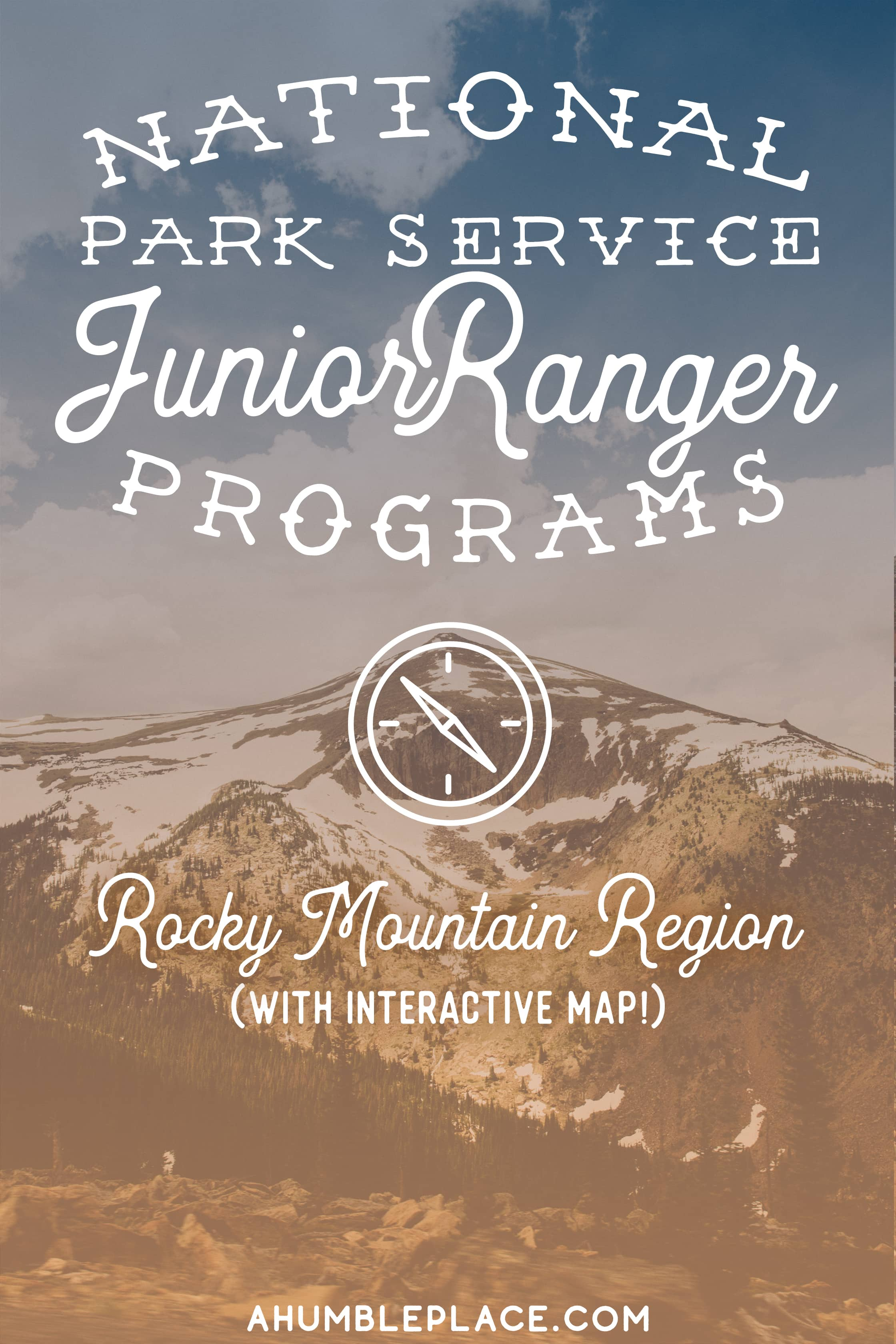 National Park Service Junior Ranger Programs in the Rocky Mountain Region. #juniorrangers #nationalparkservice
