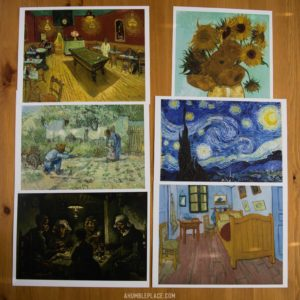 Vincent van Gogh Charlotte Mason Picture Study Prints - ahumbleplace.com