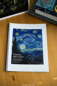 Vincent van Gogh Charlotte Mason Picture Study Aid - ahumbleplace.com