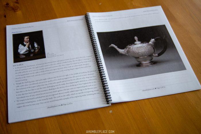 John Singleton Copley Picture Study Aid #charlottemason #picturestudy #homeschool