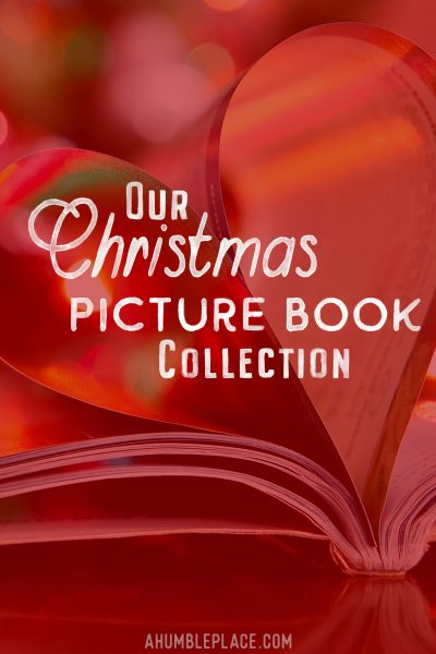 Our Christmas Picture Book Collection #christmas #christmasbooks