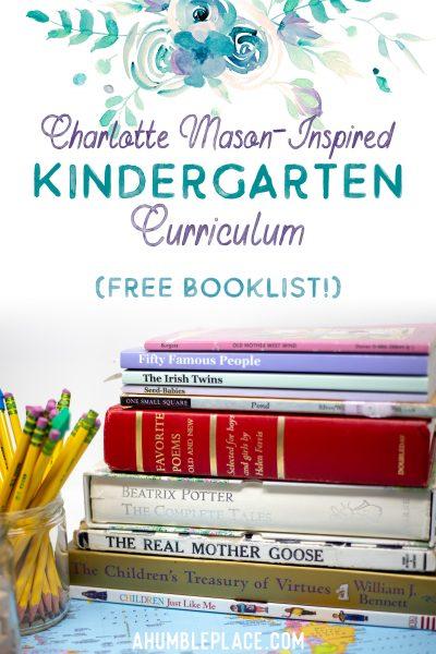 Charlotte Mason Kindergarten - ahumbleplace.com