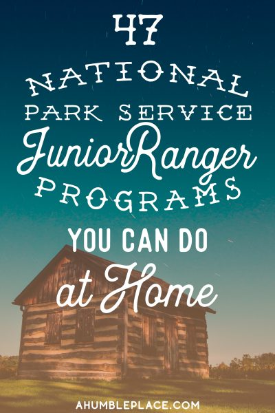 Junior Ranger Badges You Can Earn at Home