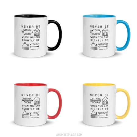Charlotte Mason Color Mugs - ahumbleplace.com