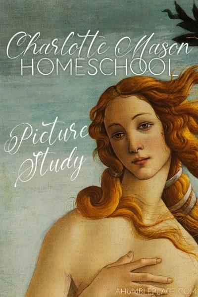 Charlotte Mason Homeschool Picture Study