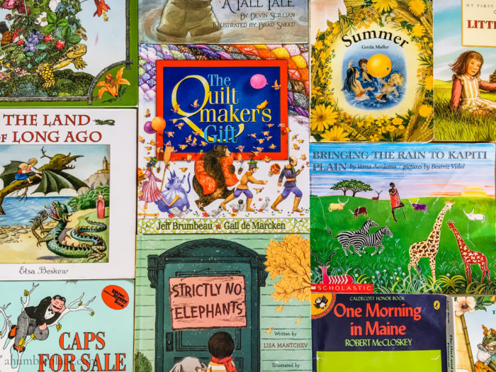 Favorite Picture Books for Summer Reading - ahumbleplace.com