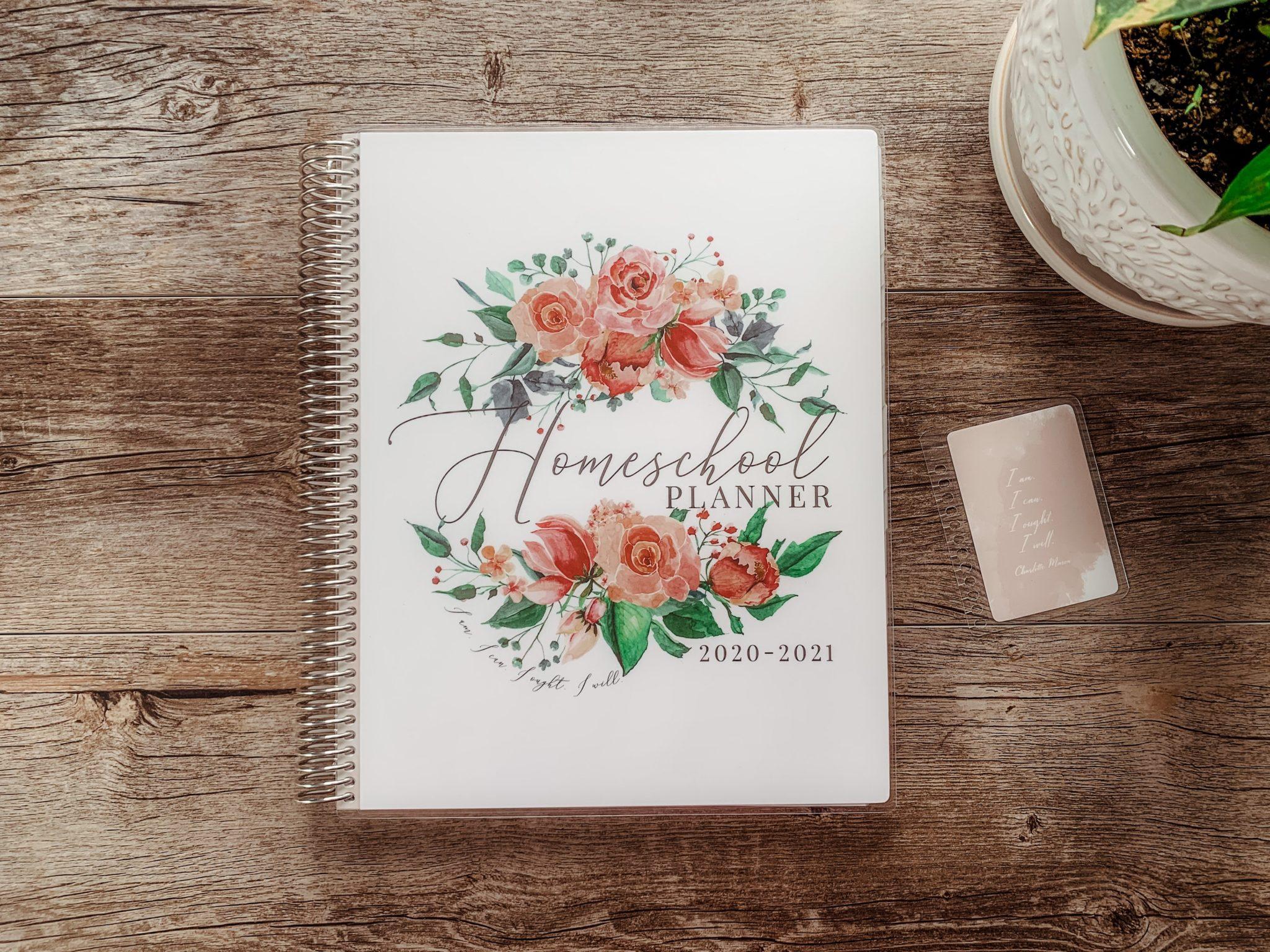 Charlotte Mason Inspired Homeschool Planner - ahumbleplace.com