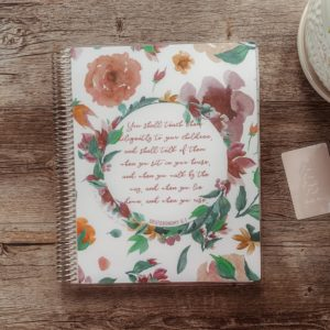 Charlotte Mason Inspired Homeschool Planner - ahumbleplace.com