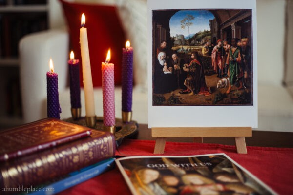 God With Us: Advent Art Devotions Volume 2 - ahumbleplace.com