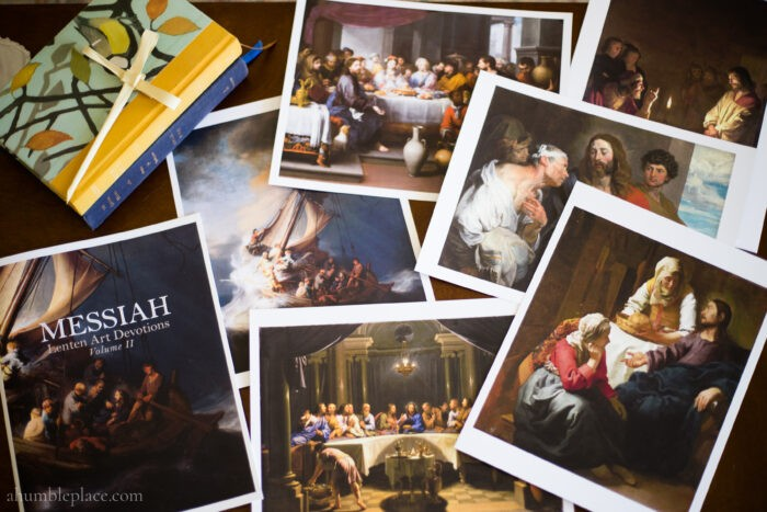 Messiah Lenten Art Devotions - ahumbleplace.com