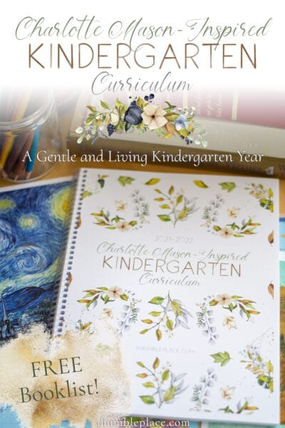 If you're looking for a Charlotte Mason Kindergarten Curriculum for your student that has everything laid out for you, check this one out! #charlottemason #kindergarten #homeschool #year0.5