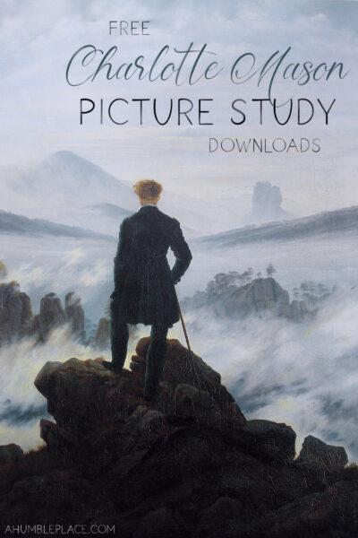 Free Charlotte Mason Picture Study Downloads