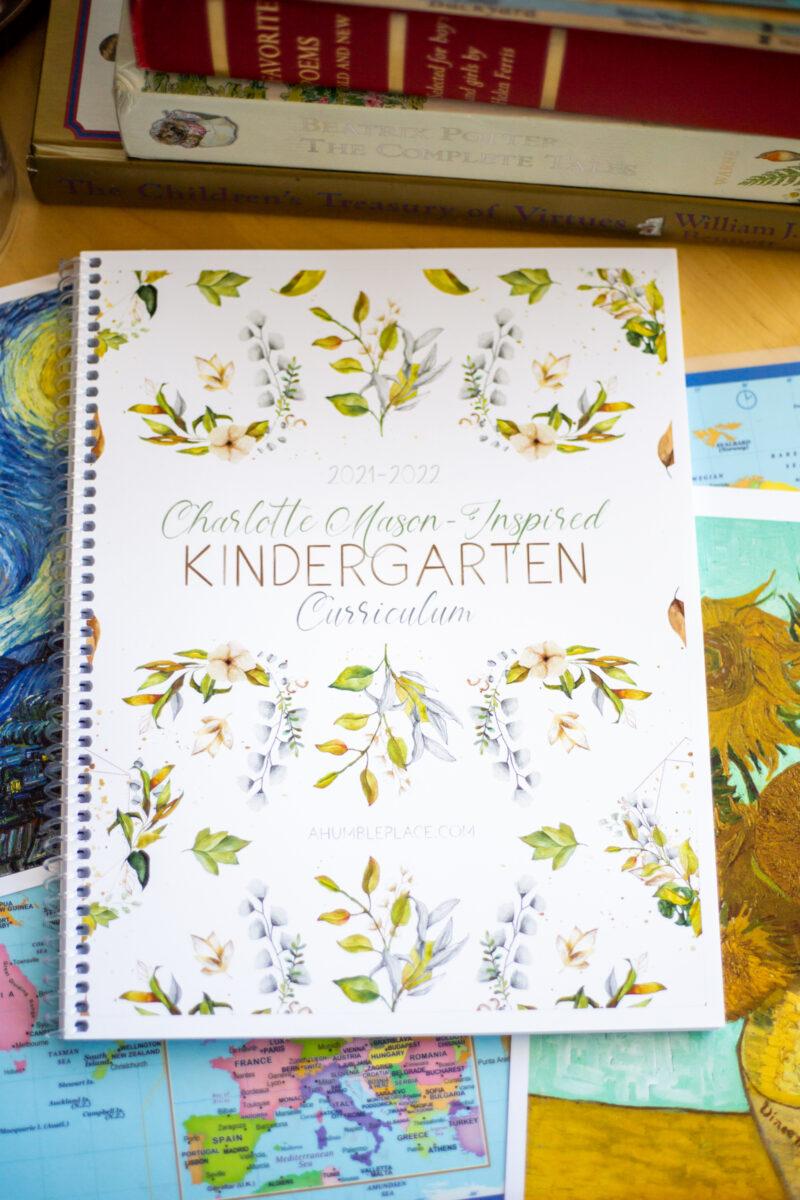 Charlotte Mason-Inspired Kindergarten Curriculum (Free Booklist!)