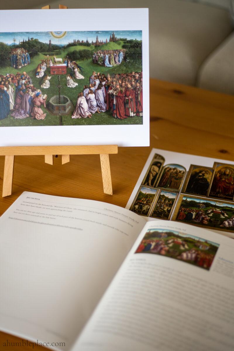 Charlotte Mason Picture Study Aid: Jan van Eyck