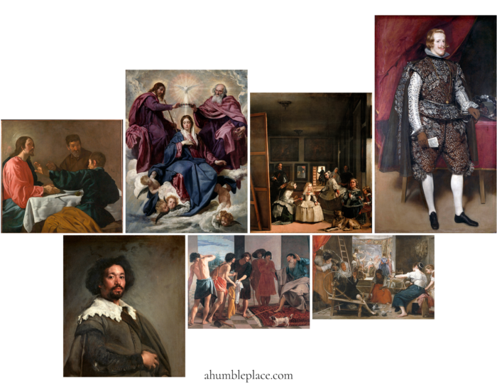 Diego Velázquez Picture Study Aid - ahumbleplace.com