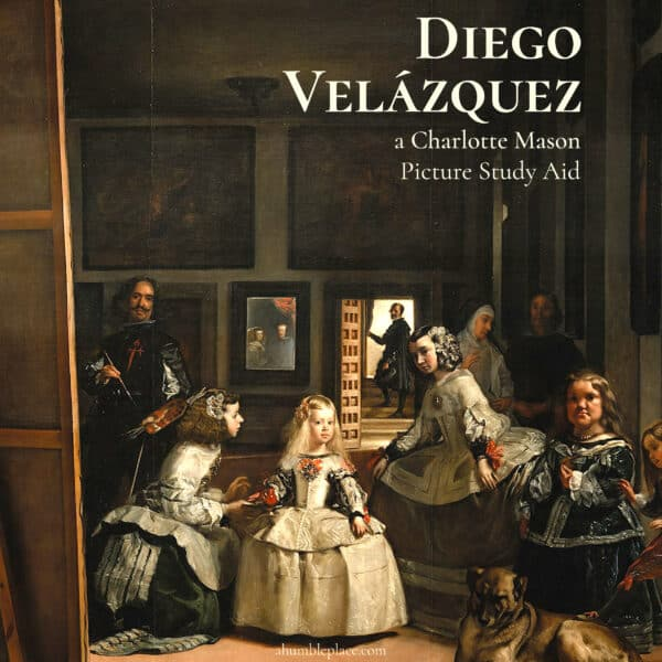 Diego Velazquez Picture Study Aid and Prints - ahumbleplace.com