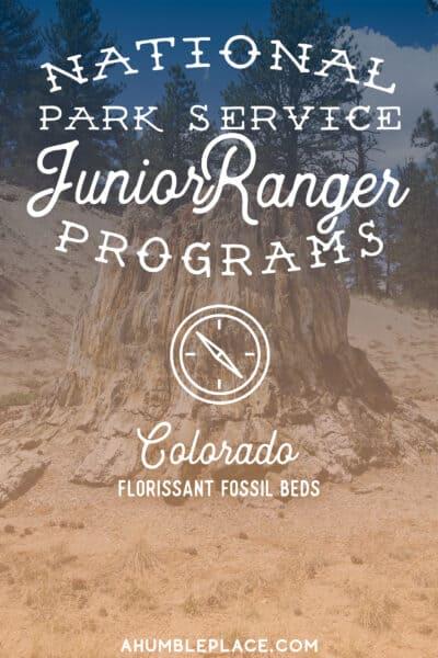 Florissant Fossil Beds Junior Ranger - ahumbleplace.com